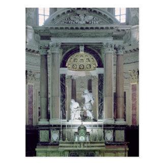 Vista del alto altar tarjetas postales