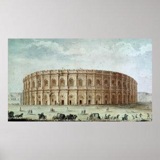 Vista del Amphitheatre romano Impresiones