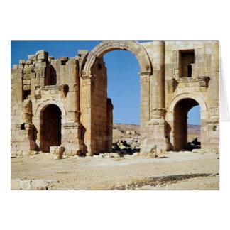 Vista del arco triunfal, ANUNCIO construido c.129 Tarjeta De Felicitación