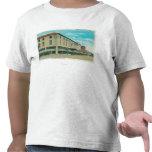 Vista del bloque del negocio en la calle de Idaho Camiseta