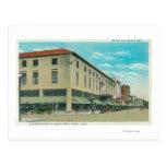 Vista del bloque del negocio en la calle de Idaho Postal