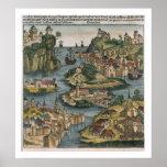 Vista del Bósforo que entra del Mar Negro, Impresiones