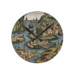Vista del Bósforo que entra del Mar Negro, Relojes De Pared
