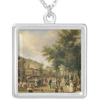 Vista del bulevar Montmartre, París, 1830 Grimpola