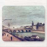 Vista del cambio del au de Pont de Quai de Tapete De Raton