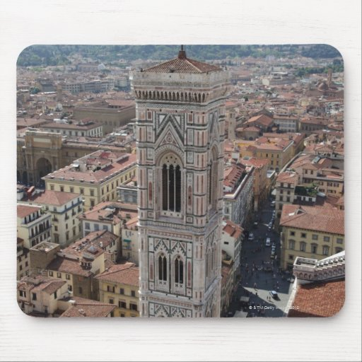 Vista del campanario de Giotto (di del campanil Mousepad