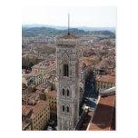 Vista del campanario de Giotto (di del campanil Postal