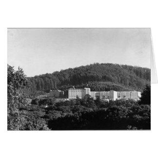 Vista del campus en 1942 tarjeta de felicitación