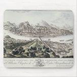 Vista del capital y de la fortaleza de Salzburg, Alfombrillas De Raton