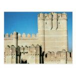 Vista del castillo, c.1453 construido postales