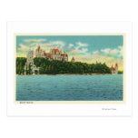 Vista del castillo de Boldt Tarjeta Postal