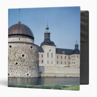 """Vista del castillo de Vadstena, construida en 1545 Carpeta 1 1/2"""""""