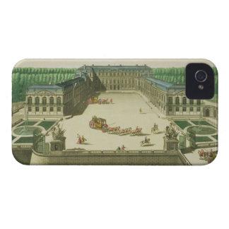 Vista del castillo francés de la nube del St., Case-Mate iPhone 4 Coberturas