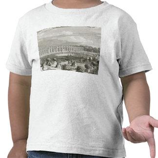 Vista del castillo francés de Trianon, el parterre Camiseta