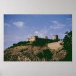 Vista del castillo póster