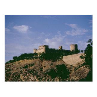 Vista del castillo postal
