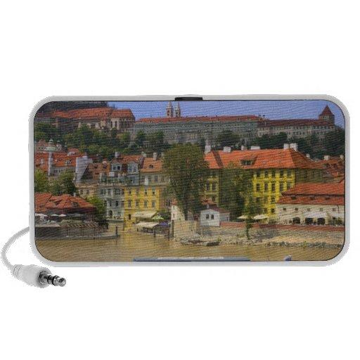 Vista del castillo y de la ciudad de Praga por Mol Laptop Altavoz