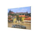 Vista del castillo y de la ciudad de Praga por Mol Impresiones En Lona