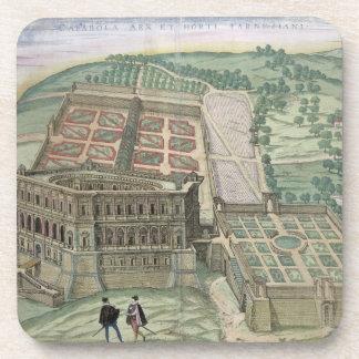 Vista del chalet Farnese y de los jardines, de 'C Posavaso