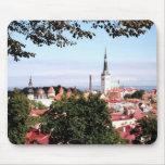 Vista del cojín de ratón de Tallinn Alfombrilla De Ratones