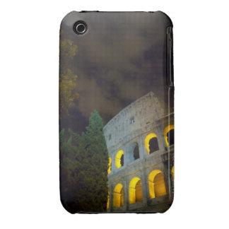 Vista del Coloseum en Roma en la noche Funda Bareyly There Para iPhone 3 De Case-Mate