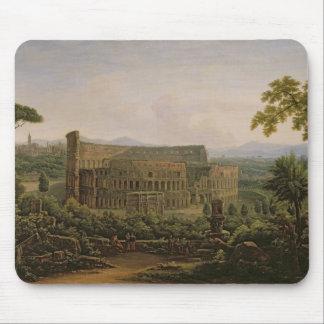 Vista del Colosseum de la colina de Palatine Alfombrilla De Ratones