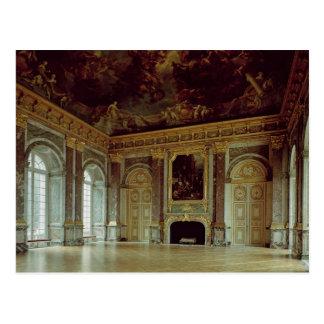Vista del d'Hercule del salón, inaugurada en 1739 Postal