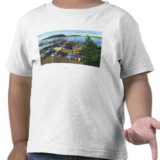 Vista del embarcadero municipal camiseta