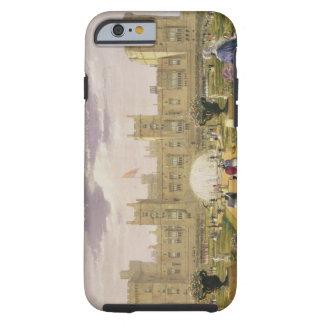 Vista del este del castillo y del jardín, Windsor Funda De iPhone 6 Tough
