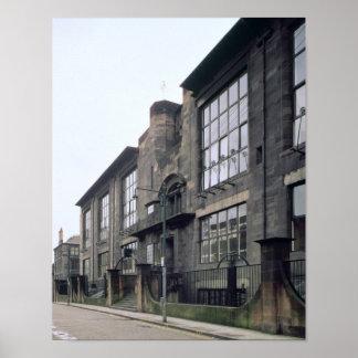 Vista del exterior construida 1897-99 poster