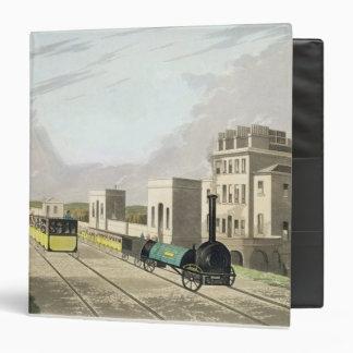 Vista del ferrocarril de Manchester y de Liverpool