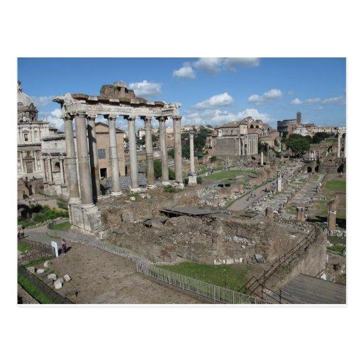 Vista del foro romano del ANUNCIO 179 Tarjetas Postales