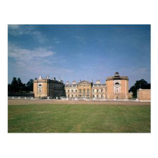 Vista del frente del oeste, reconstruida 1746-61 postales
