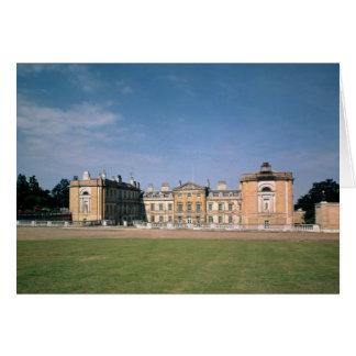 Vista del frente del oeste, reconstruida 1746-61 tarjeta de felicitación