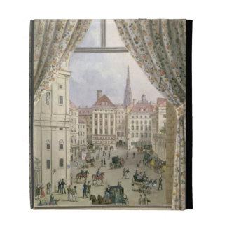 Vista del Freyung, Viena, 1825 (aguazo en pape