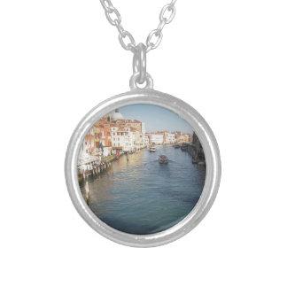 Vista del Gran Canal famoso en Venecia, Italia Colgante Redondo