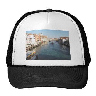 Vista del Gran Canal famoso en Venecia, Italia Gorra