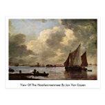 Vista del Haarlemmermeer en enero Van Goyen Postales