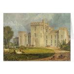 Vista del Hampton Court del noroeste, c.1806 Felicitación