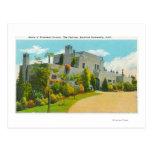 Vista del hogar de Hoover, campus de Stanford U Tarjeta Postal