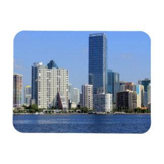 Vista del horizonte de Miami Iman