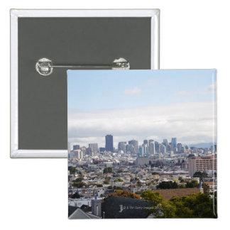 Vista del horizonte de San Francisco Pins