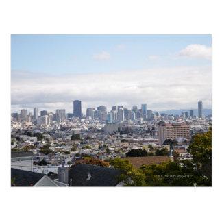 Vista del horizonte de San Francisco Postales