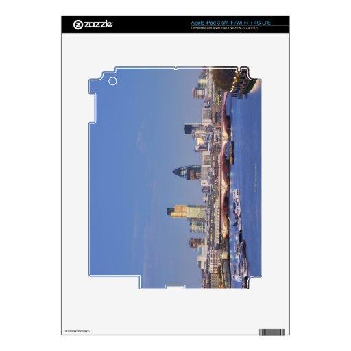 Vista del horizonte iPad 3 skins