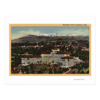 Vista del hotel de Huntington Postales