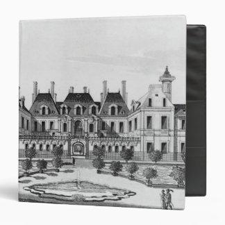 """Vista del hotel de Soissons en París Carpeta 1 1/2"""""""