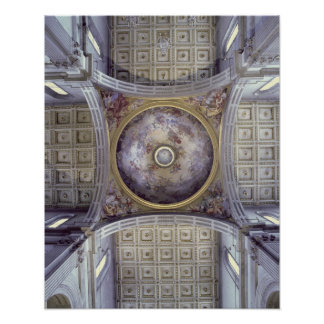 Vista del interior de la cúpula, construido en 142 póster