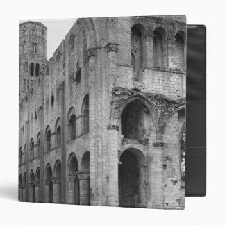 "Vista del interior de la iglesia, c.1040-67 carpeta 1 1/2"""