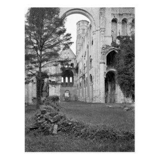 Vista del interior de la iglesia, c.1052-67 tarjetas postales