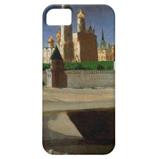Vista del Kremlin del Zamoskvorechye Distri iPhone 5 Carcasa